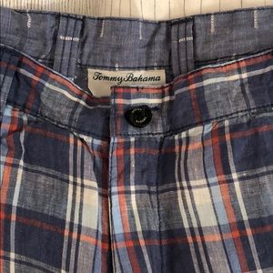 Tommy Bahama Linen shorts 38 W (reversible)